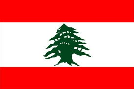 The National Flag of Lebanon