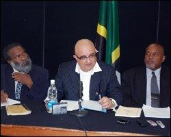 Legal Team, Dr. Henry Browne, Mr. Anthony Astaphan, S.C. and Mr. Sylvester Anthony