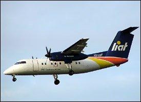 LIAT Airlines - Nevis - Antigua