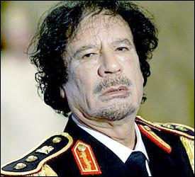 Libyan Dictaitor - Muammar Gaddafi