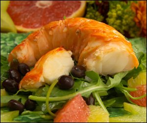 Lobster Salad With Carambola & Citrus Fruit