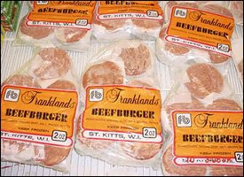 Beef Burgers Produced In St. Kitts