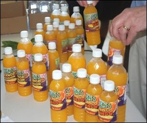 A Variety of Local Mango Juice