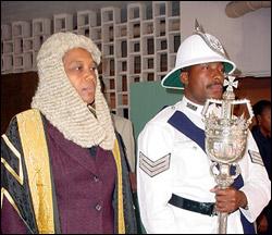 Marcella Liburd - Outgoing St.Kitts - Nevis Speaker Of The House