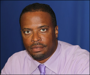 Nevis Health Minister - Mark Brantley
