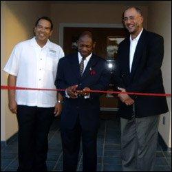 Ribbon Cutting Ceremony - Marriott Baech Club - St. Kitts