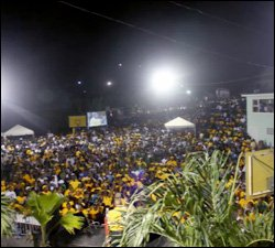 A Massive PAM Youth Rally Garners Support