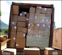 Medical Supplies Arrive In Nevis