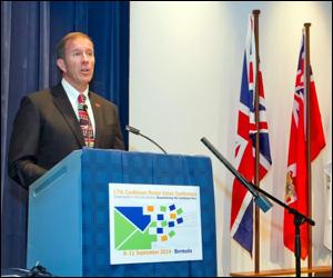 Bermuda's Premier - Michael Dunkley