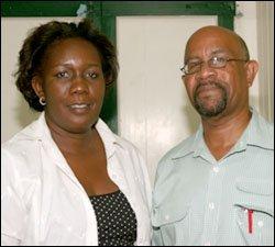 CARICOM Officials - Mignon Bowen and Carson Raggie