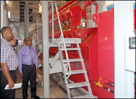 Minister Martin Views New Holeby Generators