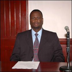 Minister of Education - Mr. Nigel Carty