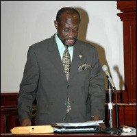 St. Kitts - Nevis Labour Minister - Sam Condor