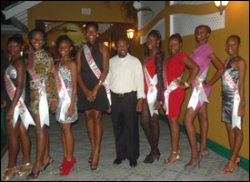 Miss Labour Beauty Pageant Contestants 2012