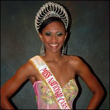 Miss St. Kitts - Nevis - Iantavian Queely