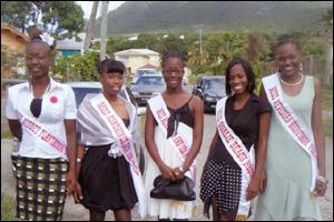 Miss Teen Hospitality Nevis Contestants 2011