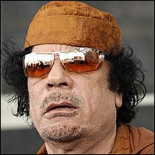 Libyan Leader - Moammar Gadhafi