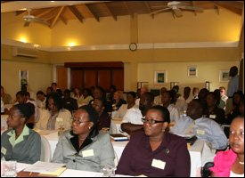 Participants At Money Laundering Conference