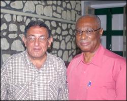 Mr. Namdar and Premier Parry
