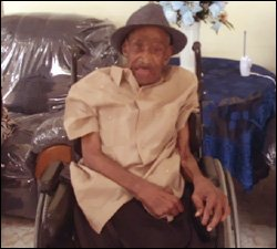 Mr. Solomon Queely At 102 Years Old
