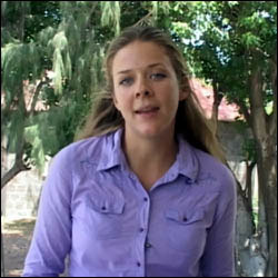 Ms. Christina Stoney - Peace Corp Volunteer