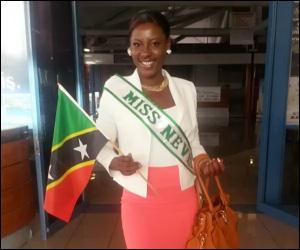 Ms. Nevis Culture 2013 - Jomelle Elliott