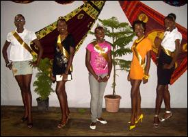 Ms. Saddle Fiesta Contestants - 2008