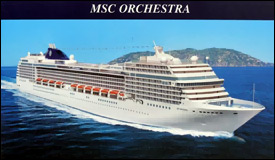 MSC Cruise Lines - Orchestra Cruise Ship