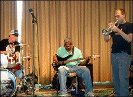 John Legend Band Members At 2008 Workshop