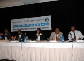 St. Kitts - Nevis National Economic Meeting 2007