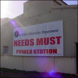 Needs Must Power Station - St. Kitts