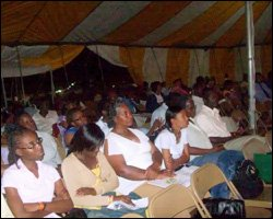 Audience At Adventist Youth Retreat
