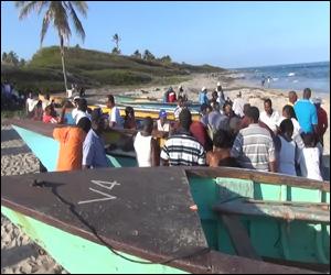 Nevis Fishing Tournament Participants