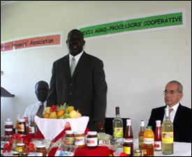 Nevis Agricultural Minister - Robelto Hector