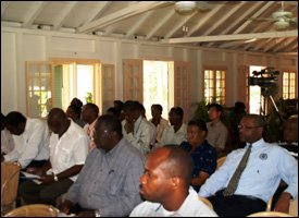 Audience At Nevis Agro-Tourism Consultation