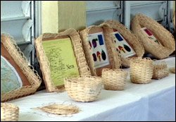 Basketry Works By Charlestown Primary Students