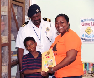 Happy Child With Donated Book