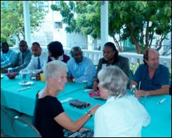 Members of The Nevis Chamber of Commerce and Industry