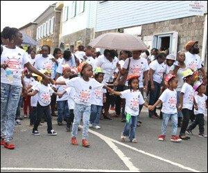 Nevis Child Month Parade - June - 2015