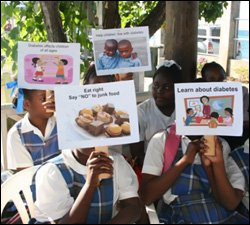 Nevis Children Learn About Diabetes