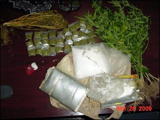Illegal Drugs Seized By Nevis Police
