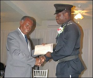 Nevis' Constable Of The Year Is Kishorn Charles