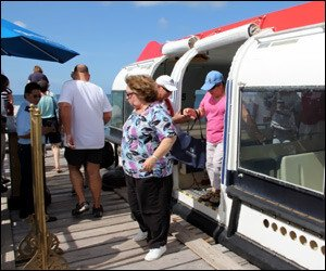Cruise Passengers Arrive In Nevis