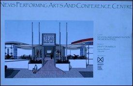 Artist's Depiction Of Nevis' Cultural Centre