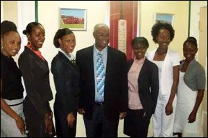 Premier Parry With Culturama Beauty Contest Contestants