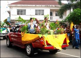 Nevis Culturama Festival Parade