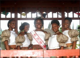 Nevis Culturama Queen Contestants -2008