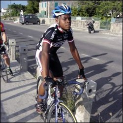 Nevisian Cyclist - Assim Chapman