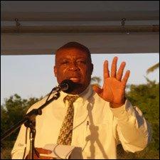 Nevis Deputy Premier - Hensley Daniel