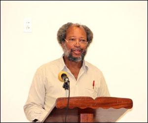 Lester Blackett - Nevis Disaster Management Director